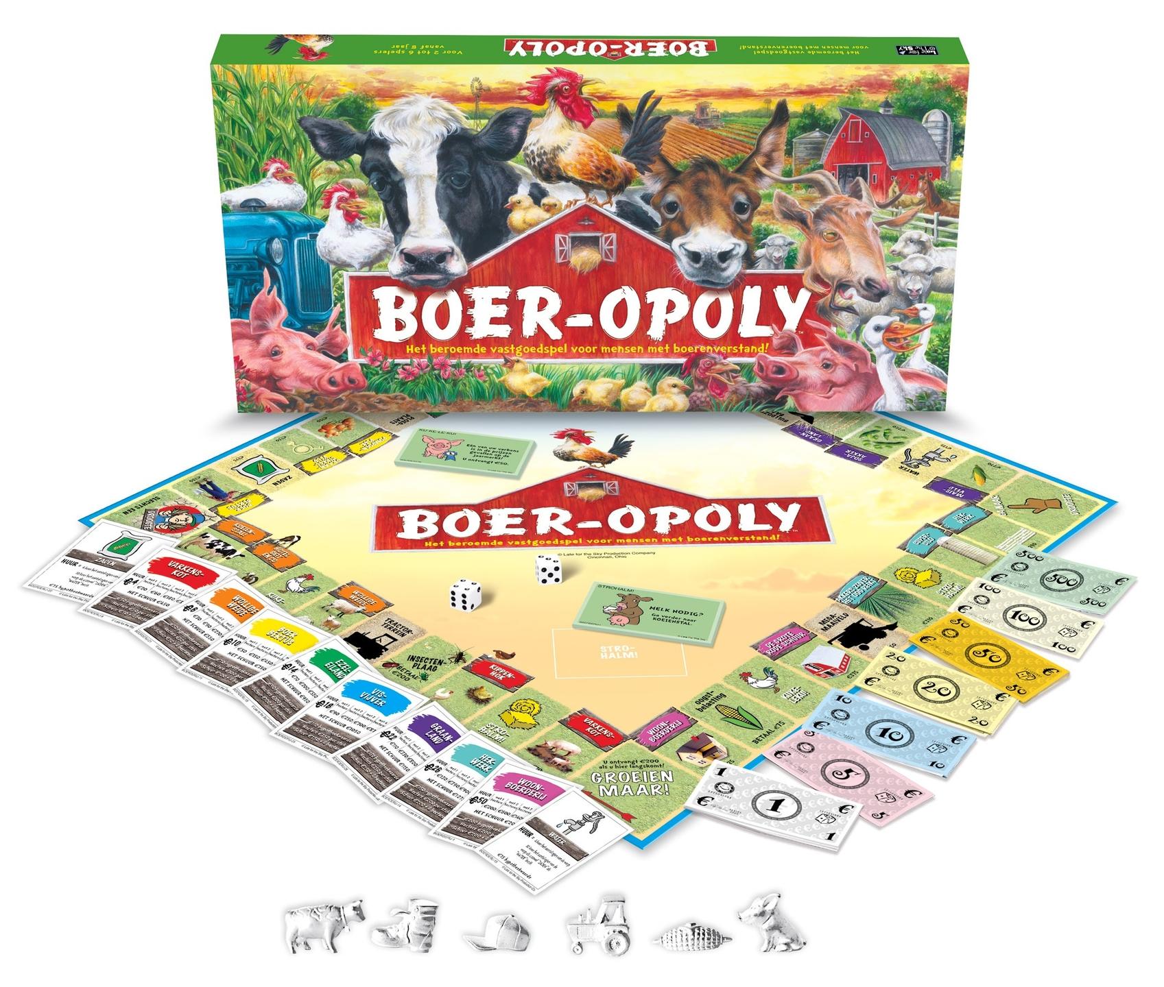 BOER-PAARD-OPOLY SPEL