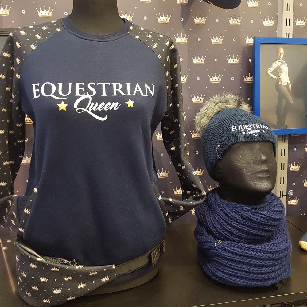 BudgetRuitershop Spoga 2017 START Equestrian Queen vest sjaal muts