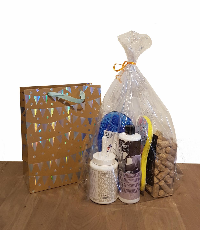 Cadeau pakket paard - verjaardagspakket paard - verwenpakket paard XXL | BudgetRuitershop.nl
