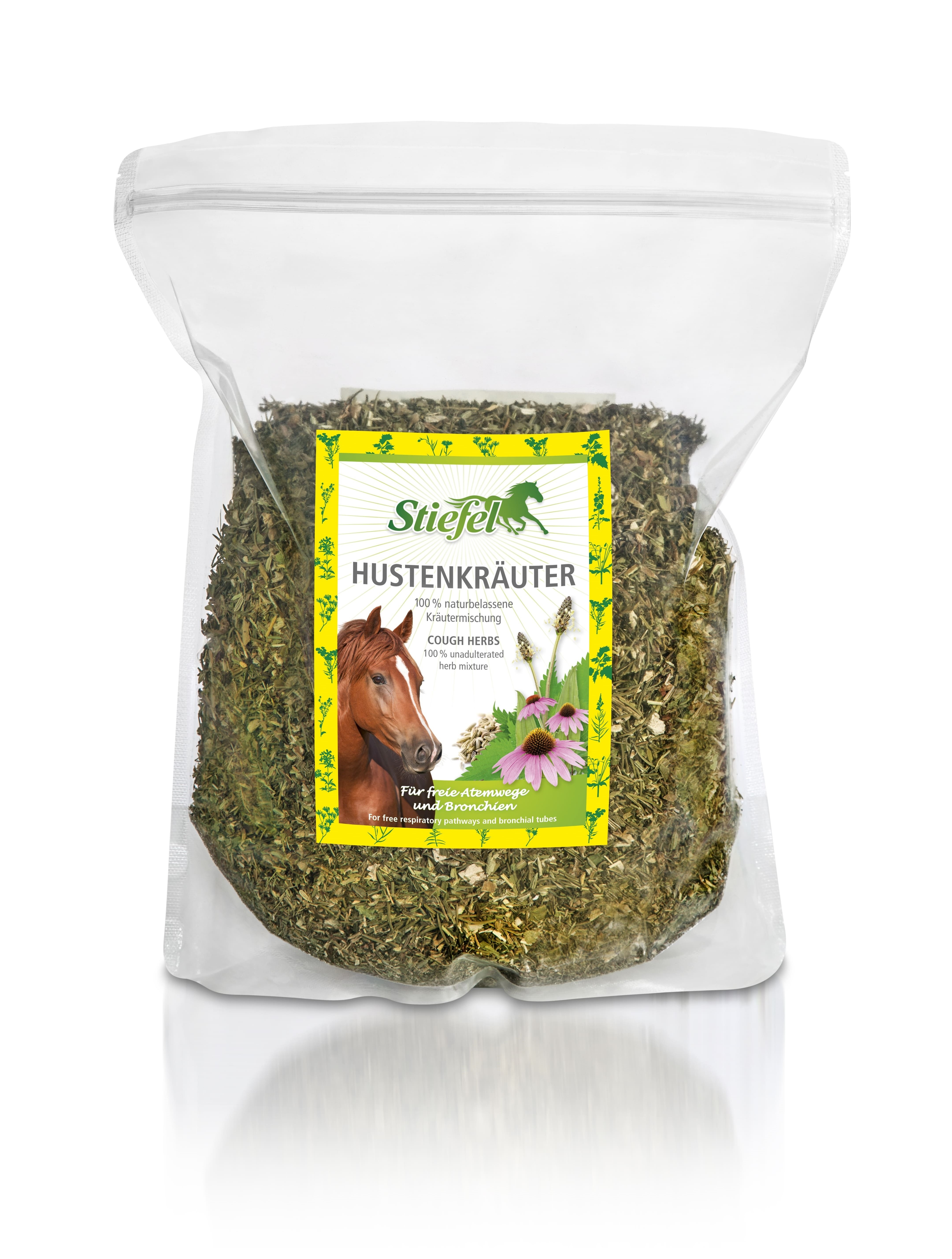 Stiefel Cough Herbs paard