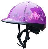 Veiligheidshelm met verschillende paardendesigns