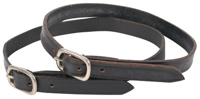 Harry's Horse Sporenriempjes leder, zwart