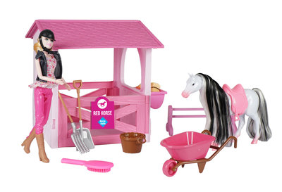 Speelgoed paardenstal